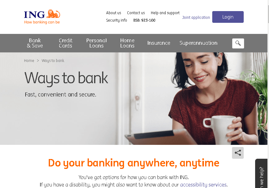 ING Direct Australia login guide