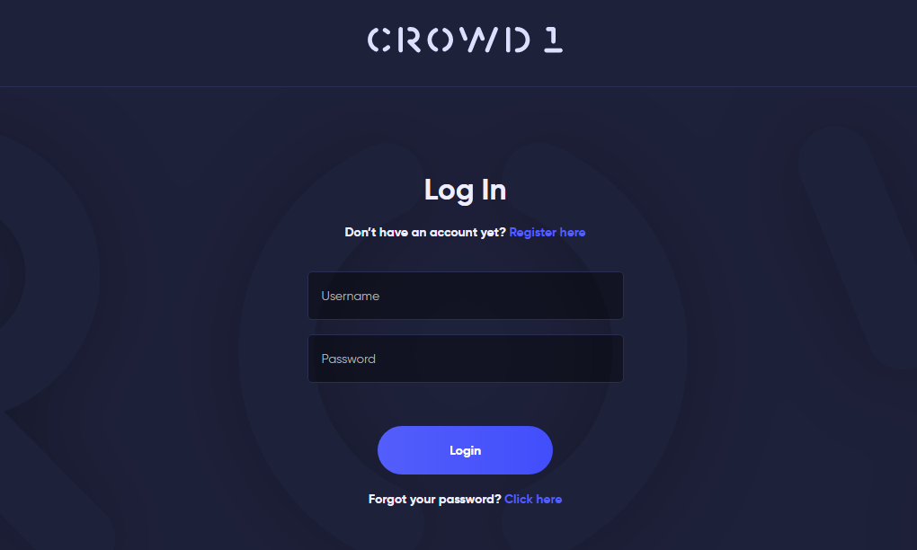 Crowd1 Login Guide