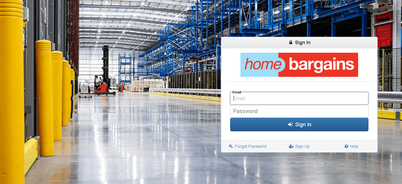 Home Bargains login guide