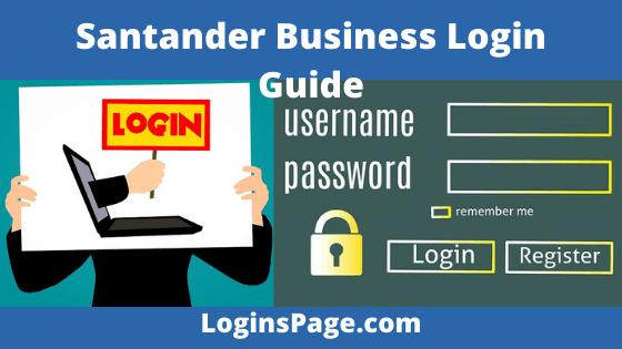 Santander Business Login Guide