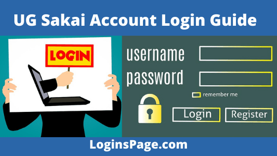 UG Sakai Account Login Guide